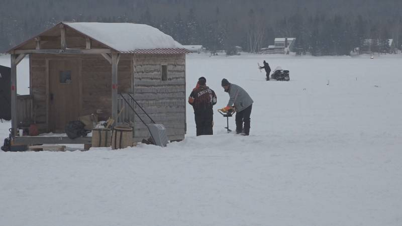 One of the largest ice fishing derbies in the State is this weekend.
