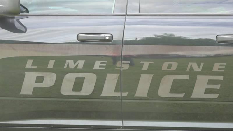 A Limestone Police truck