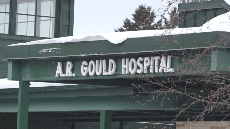 Officials with Northern Light A.R. Gould Hospital aren't allowing visitors into their...