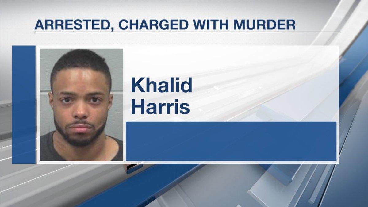 Khalid Harris arrested.