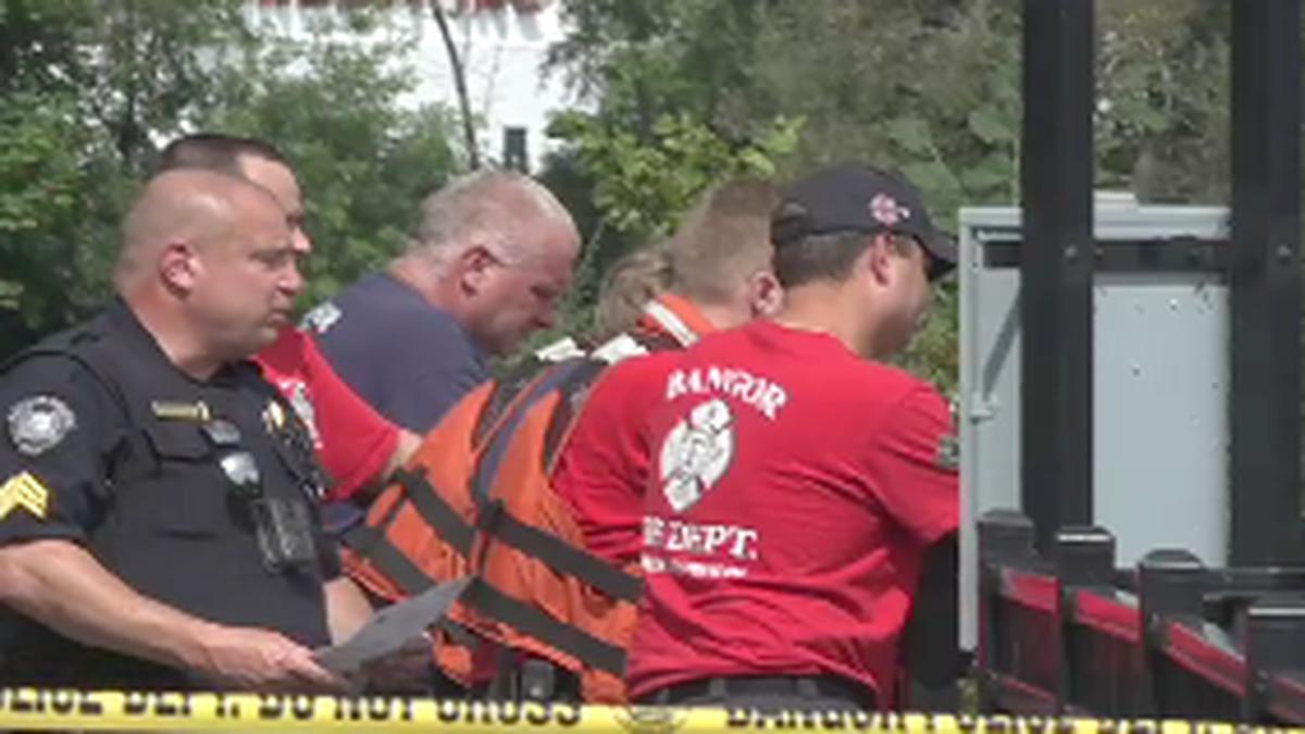 Bangor Police find body in Penobscot River Friday.