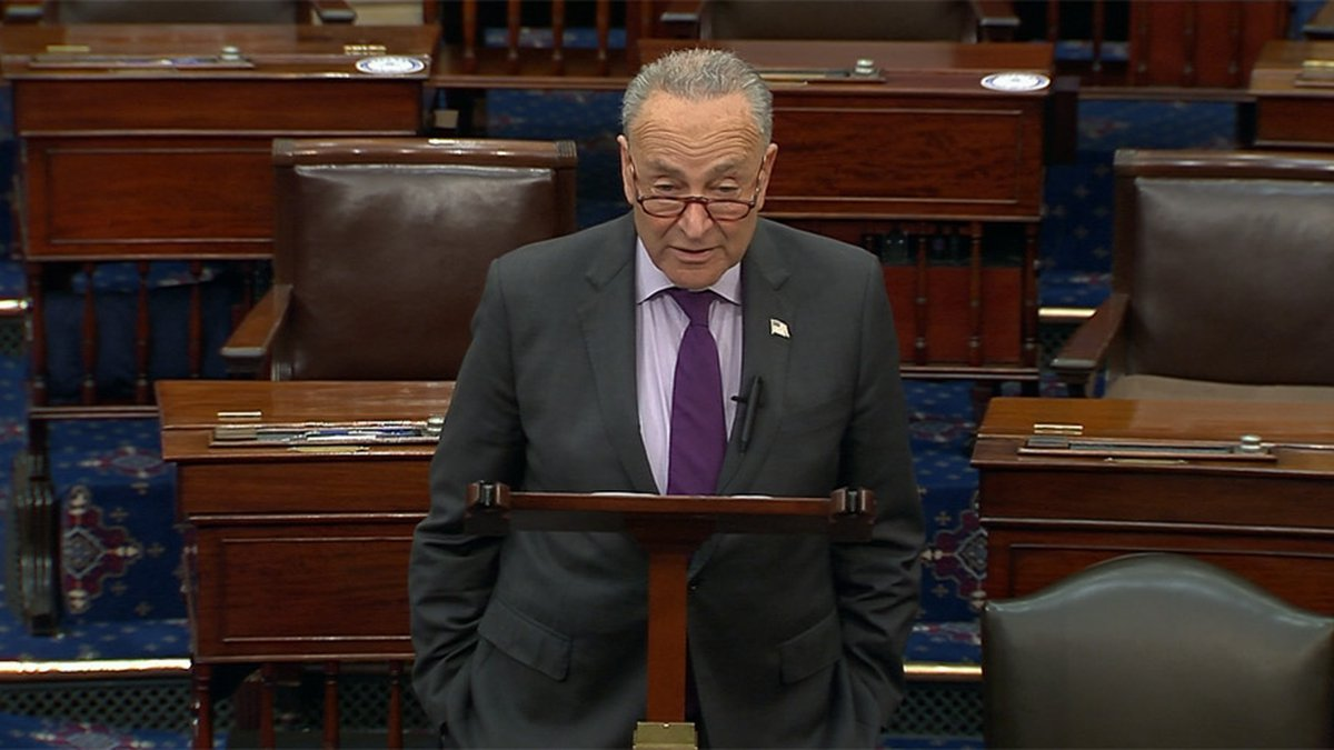 Sen. Majority Leader Chuck Schumer, D-N.Y., vowed to press ahead. He said Democrats will hold a...