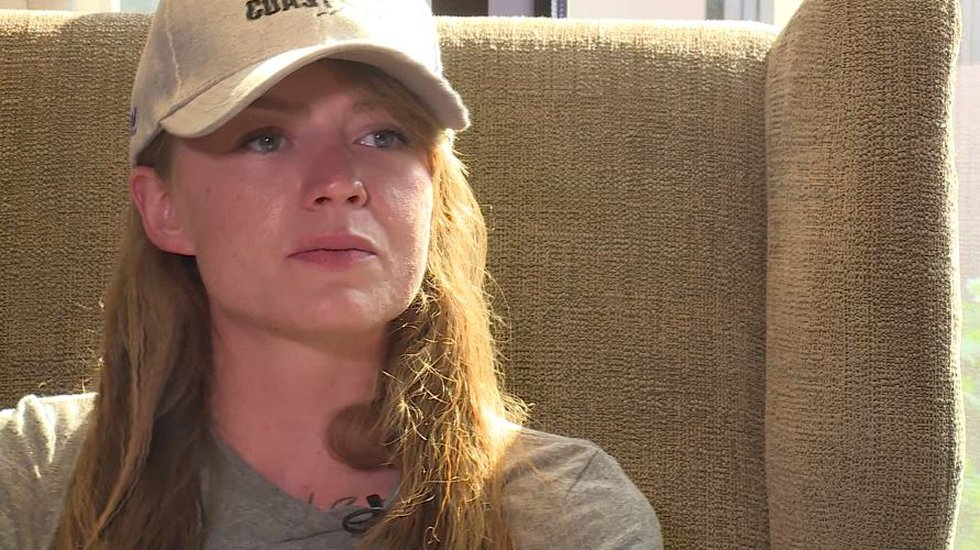 Mandy Horvath, who lost her legs in 2014, became the first female bilateral amputee to climb...