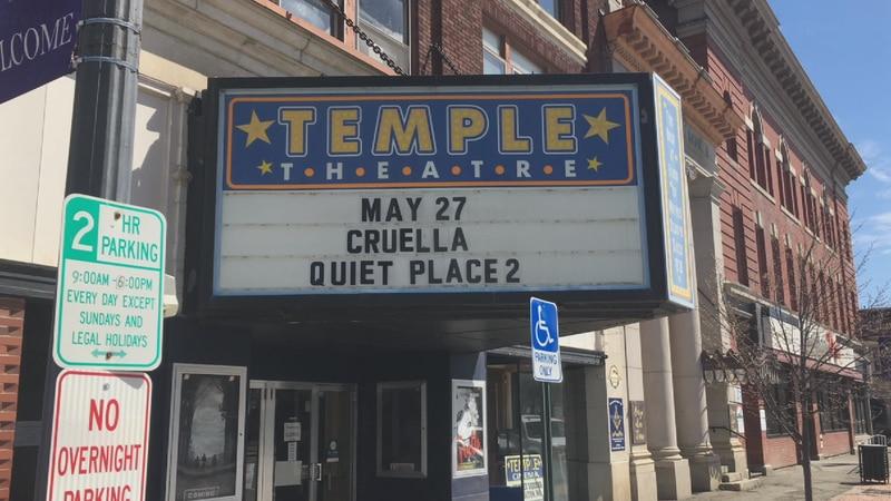 Temple cinema opening.