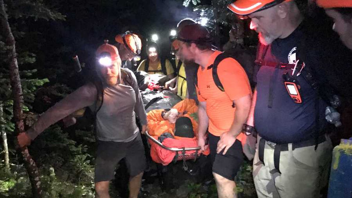 Maine Game Wardens and approximately 35 first responders and volunteers rescued an injured...