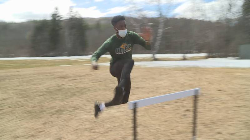 The UMFK track and field team keeps a positive attitude.