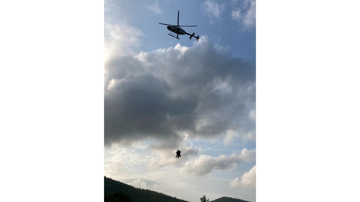 Maine Warden Service, Maine Forest Rangers, Patten Ambulance Team Up to Rescue Injured Hiker