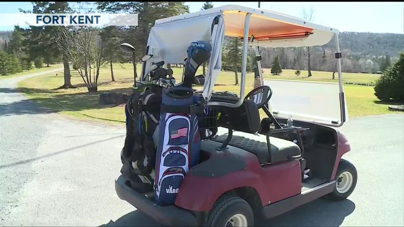 Maine's Northern Most Golf Course has its Earliest Opening