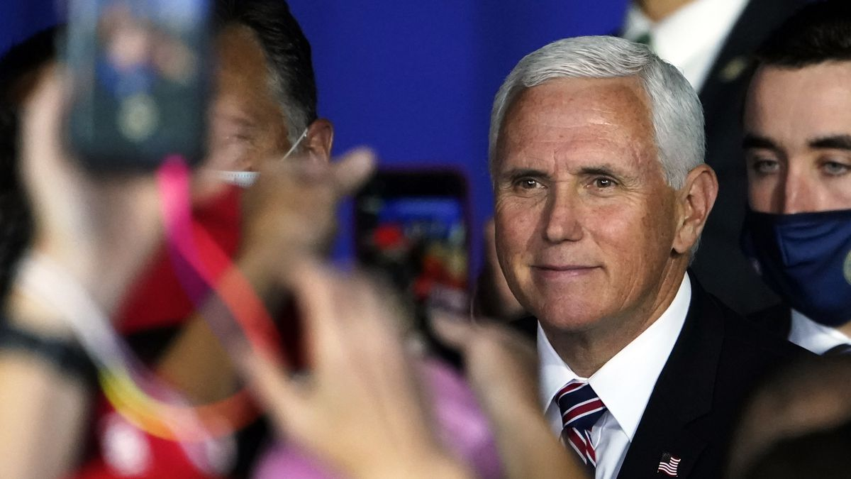 Vice President Mike Pence set to hold rally in Hermon Monday.