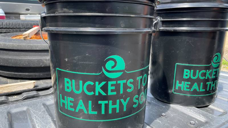 Buckets to Healthy Soil composting project