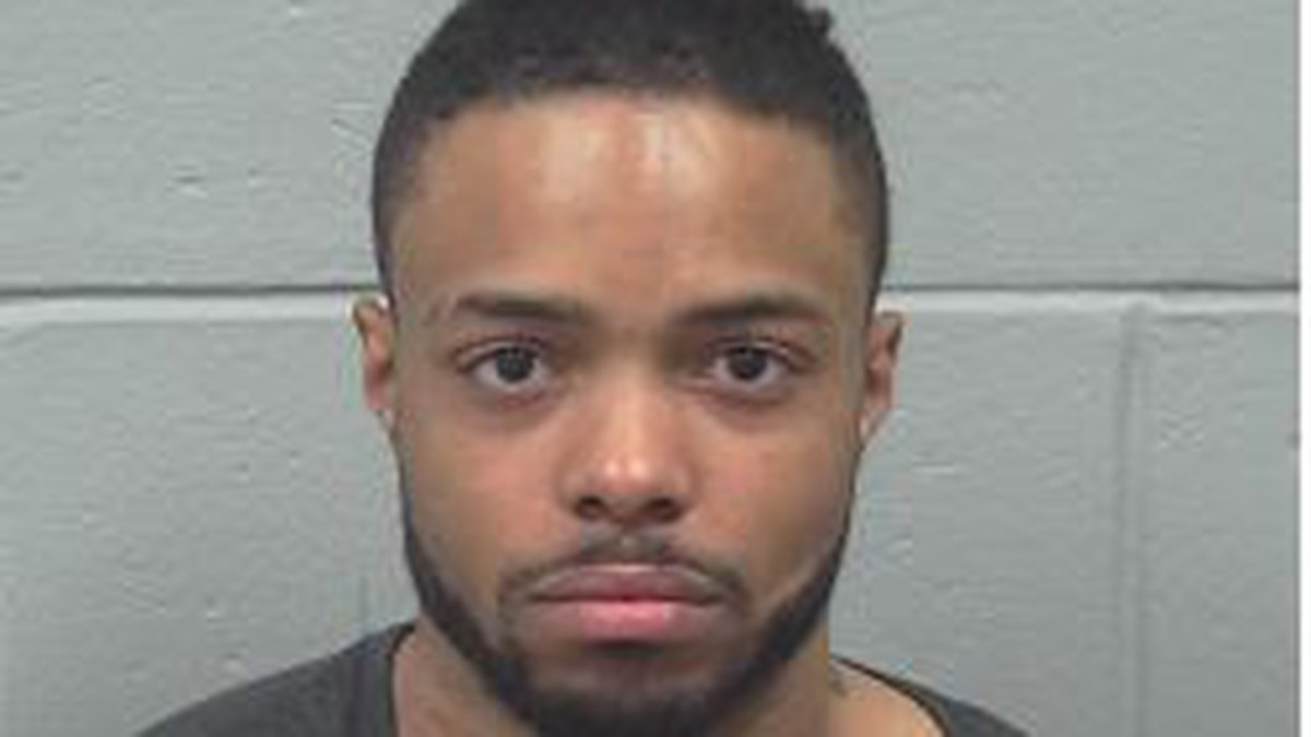 28-year old Khalid Harris wanted on charges of murdering another New York man whose body was...
