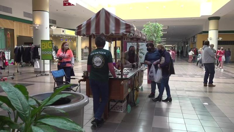 The Annual Chocolate Festival was held at the Aroostook Centre Mall