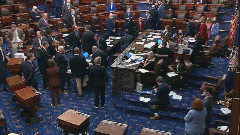 The Senate passed the $1 Trillion bipartisan infrastructure bill with a vote of 69-30.