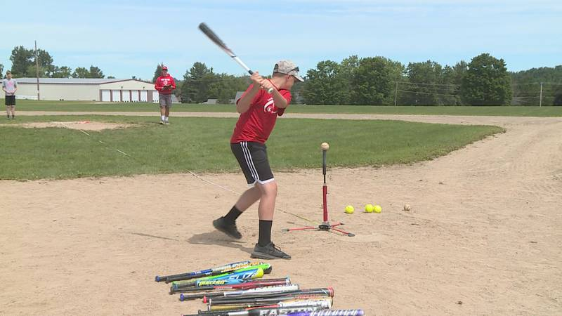 Youngsters from six different recreation departments converged on Fort Fairfield for a pitch...