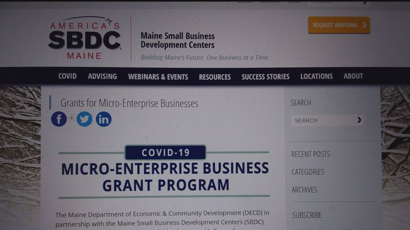 The Maine Small Business Development Centers have received new grant funding for eligible small...