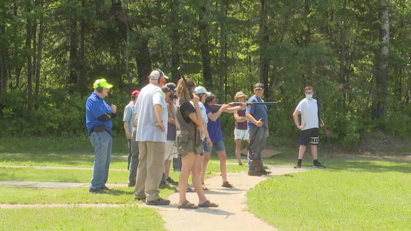 East Grand students learn to safely handle firearms