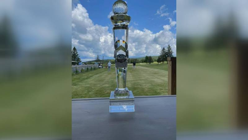 The Spudland Open golf tournament had another huge field.