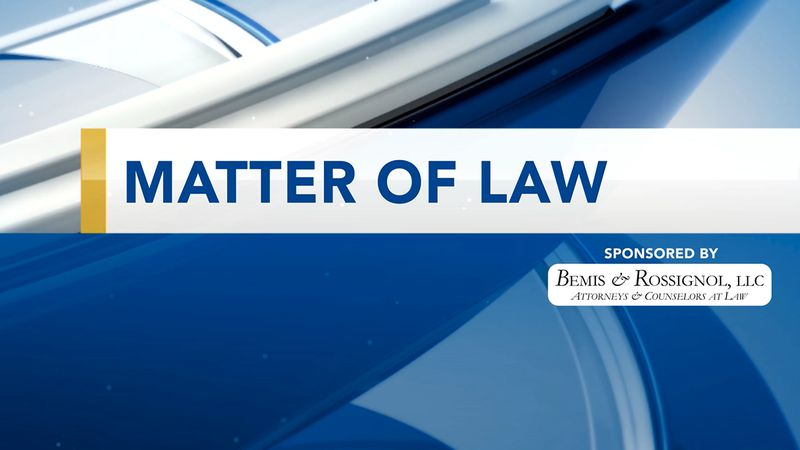 matter of law