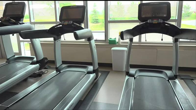 Running machines at NMCC's Smith Wellness Center