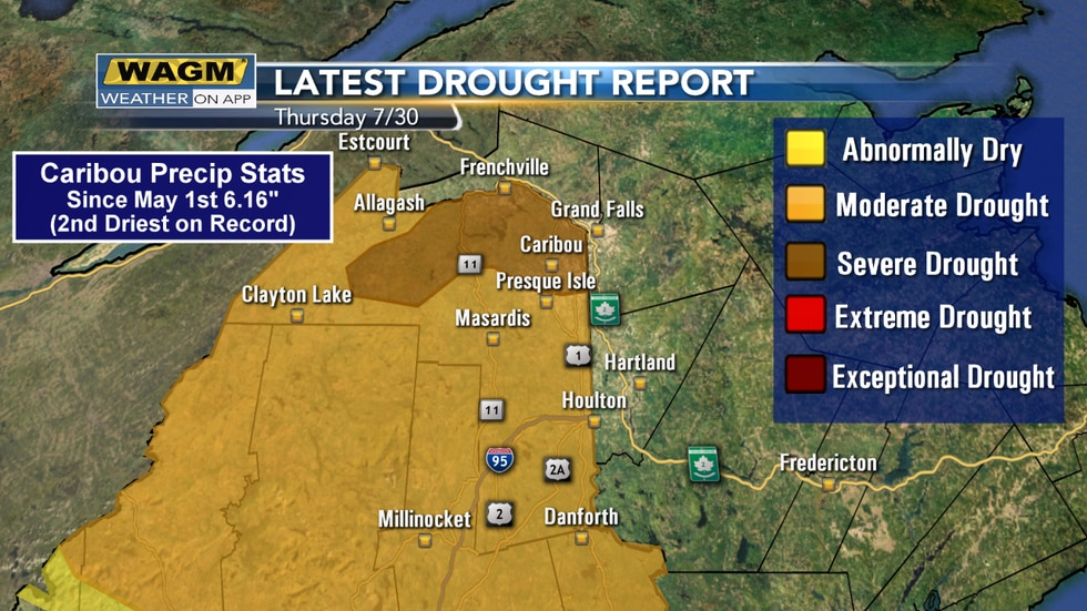 Updated Drought Monitor for Maine