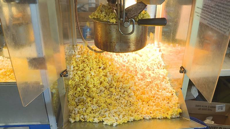 While spectators are not allowed at games. The popcorn king in Mars Hill finds a new way to...