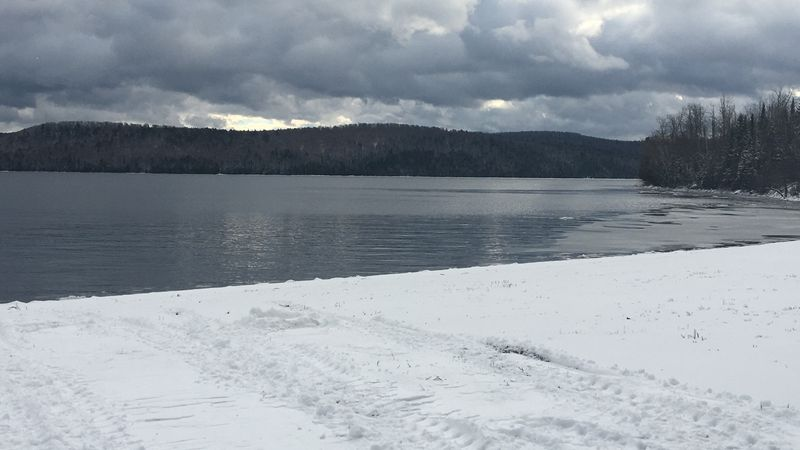 The Maine Warden Service is warning anglers about thin ice