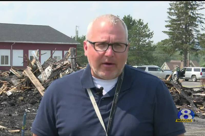 Community reacts to Dr. Levesque Elementary School fire.
