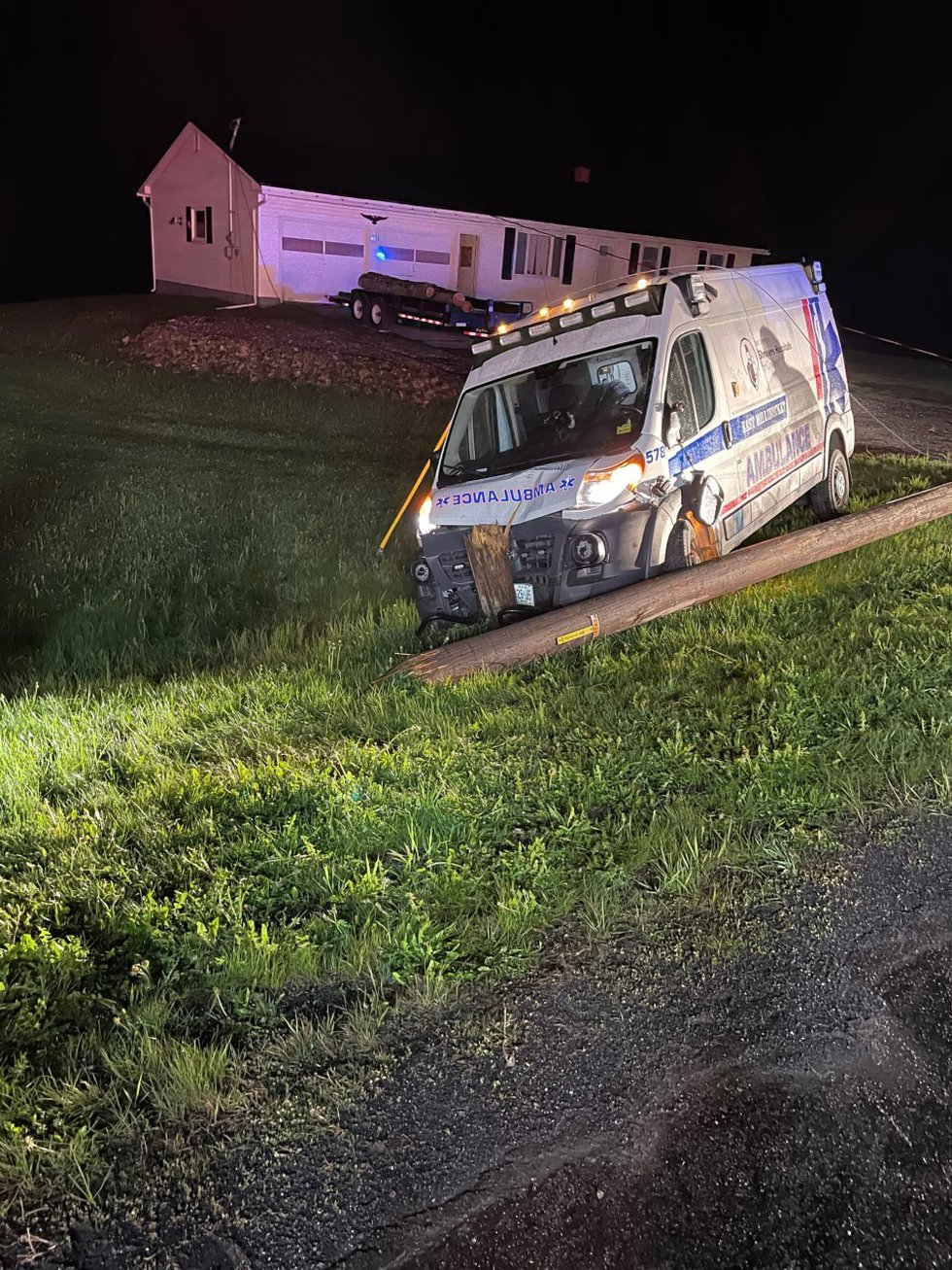East Millinocket Ambulance Crash