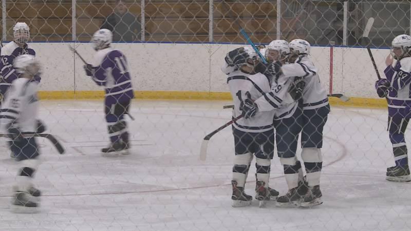 Three Presque Isle hockey players are teaming up again in Jr hockey