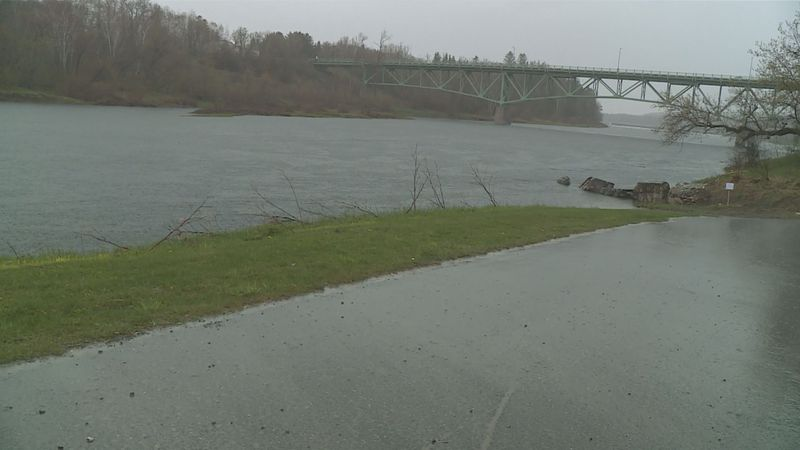 Paddlers will be racing on the Aroostook river in Caribou on Saturday.