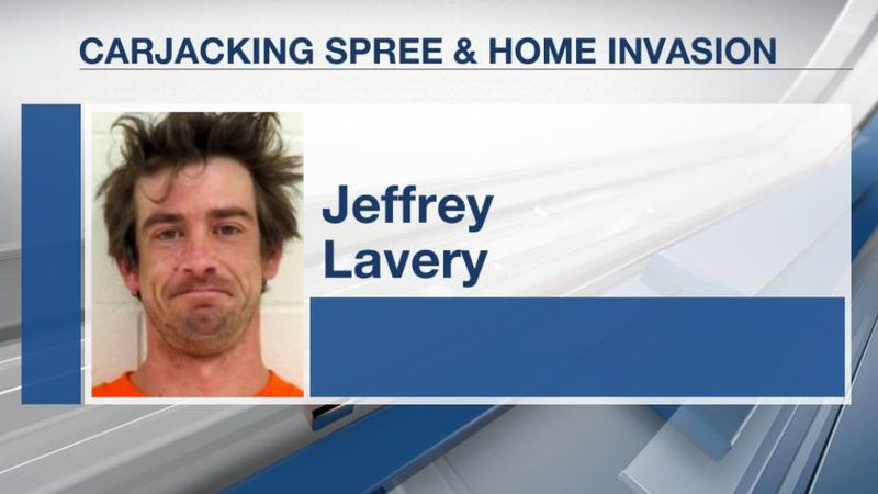 Police said Jeffery Lavery, 34, of Harrisville, New Hampshire, forced his way into a home in...