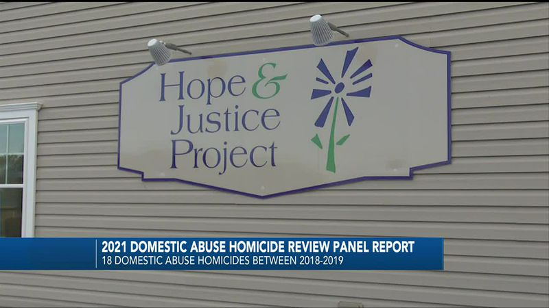 Report details domestic violence data in Maine