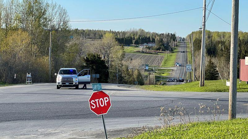 Caribou Police Scene