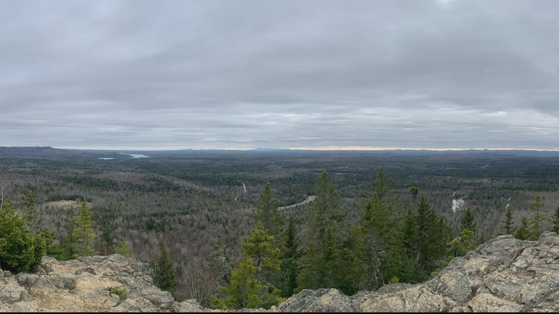 The view from Haystack mountain