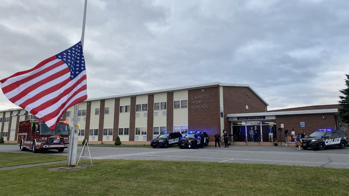 Caribou High School 9/11 Ceremony
