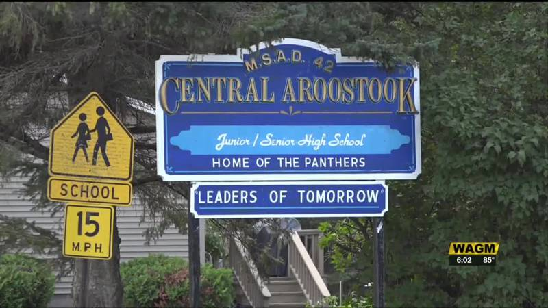 It's the first day of classes at the Central Aroostook High School in Mars Hill.    The...