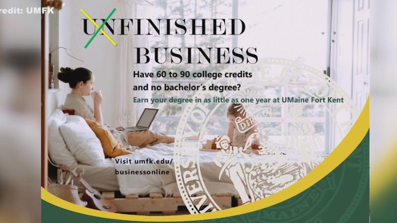 Online program to help people earn a bachelor degree.