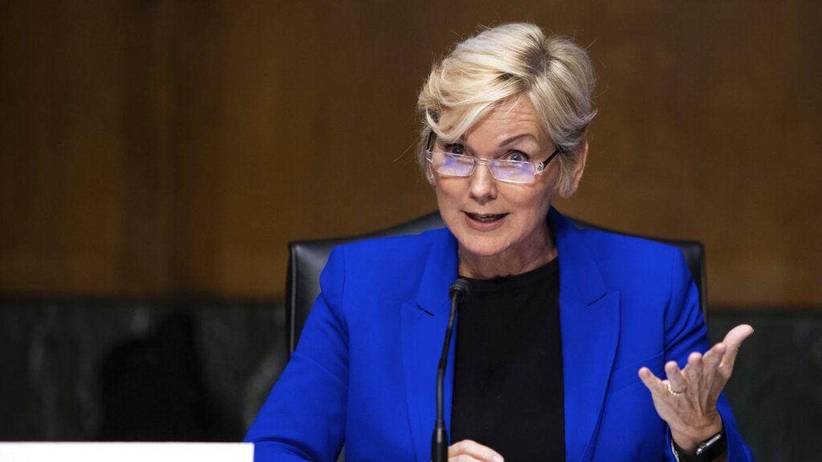 Former Gov. Jennifer Granholm, D-Mich., testifies before the Senate Energy and Natural...