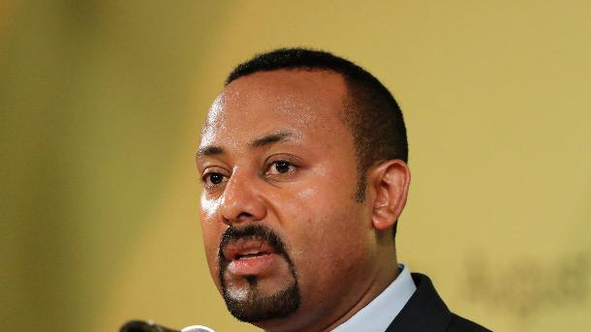 The 2019 Nobel Peace has been awarded to Ethiopian Prime Minister Abiy Ahmed. (AP Photo/Lee Jin-man)