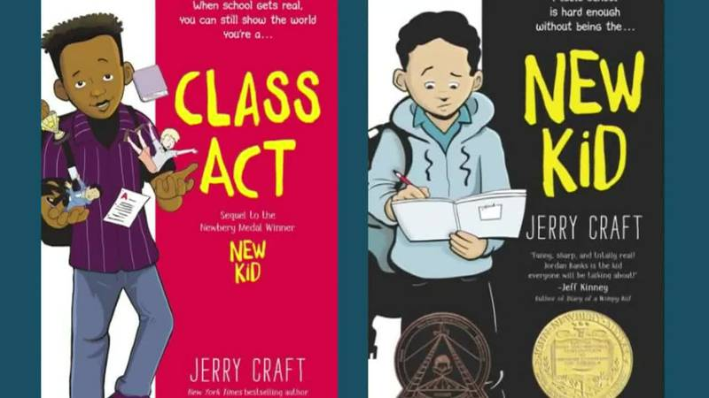 Jerry Craft writes stories about Black boys dealing with race issues in school. A group of...