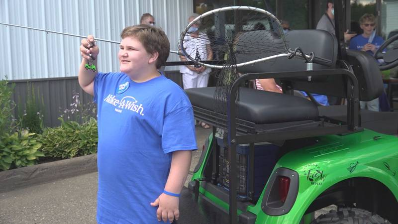John-David is a 10 year-old boy who lives with a nervous system disorder