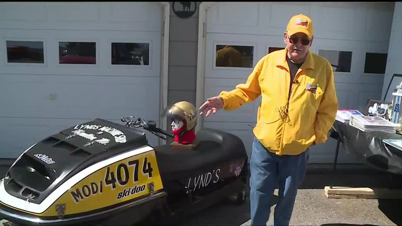 Presque Isle's Tom Peters recognized for his success in snowmobile racing