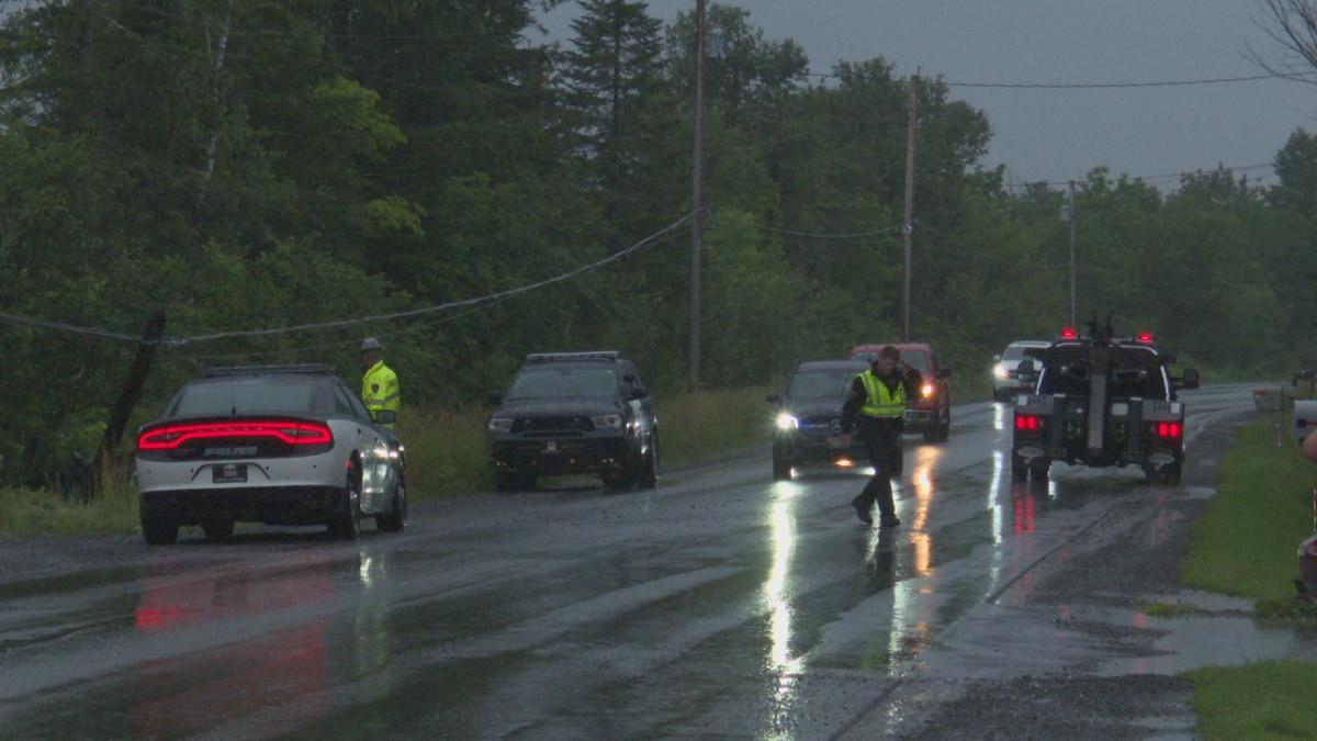 Vehicle Crashes Into Utility Pole on Washburn