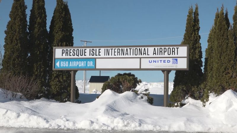 Like airports nationwide, Presque Isle International Airport is reporting a steep decline in...
