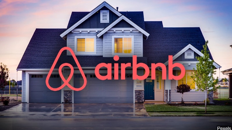 Airbnb says searches for Airbnb homes in more remote areas in the state have increased by 63%...