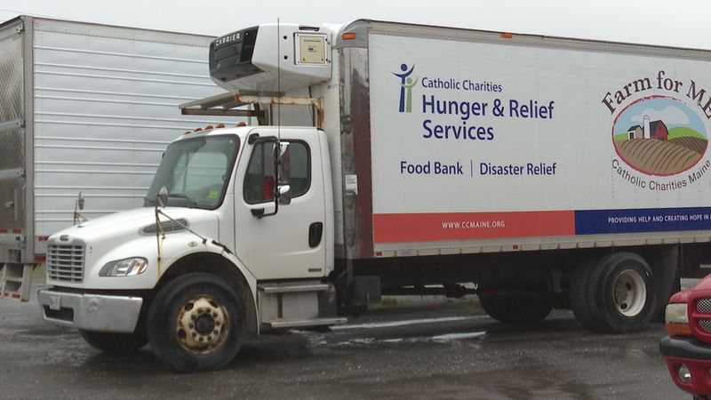 Catholic Charities Maine Truck Theft