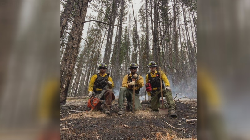 Maine Forest Rangers helping with wildfires out west