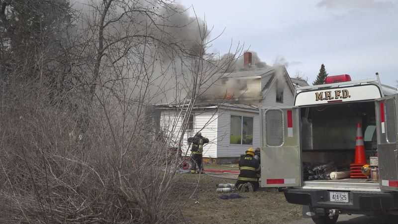 Mars Hill House Fire