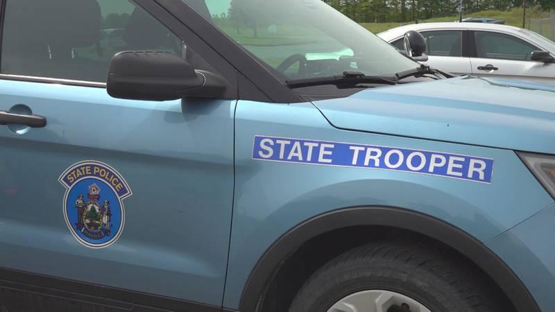 Maine State Police Car