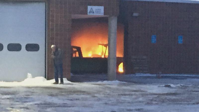 Southern Aroostook Community School Fire